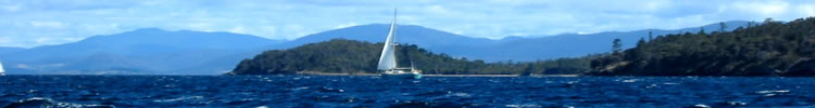 Sailing Story - SV Homer Heading Home! - D'Entrecasteaux Channel